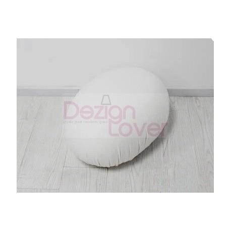Tato stool Egg seat pouf in white on sale
