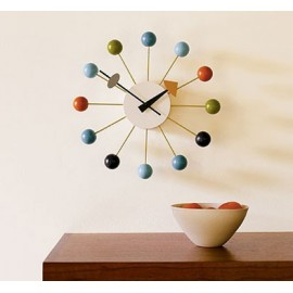 Nelson ball clock multi-colored on sale