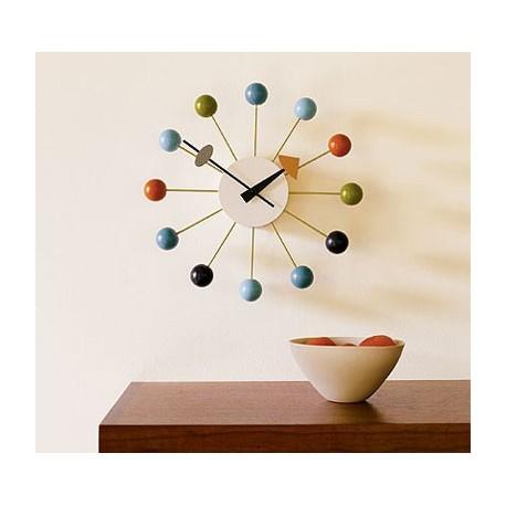 Horloge Nelson ballclock multi-couleur