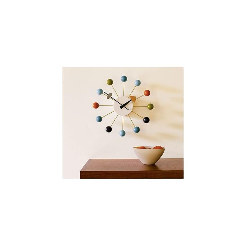Horloge nelson ballclock multi couleur livraison gratuite pour le monde entier for Grande horloge murale solde