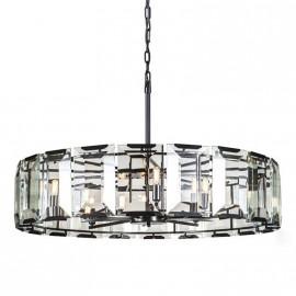 RH Harlow Crystal Round design Chandelier D110cm