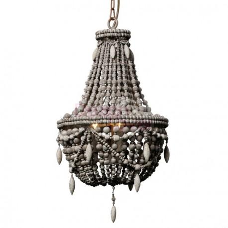 RH Clay Bead Empire pendant lamp