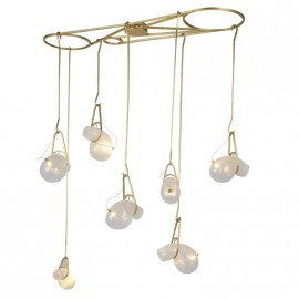 Chandelier suspension design Catch 7A