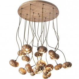 Chandelier LED design Cluster Flower Petal