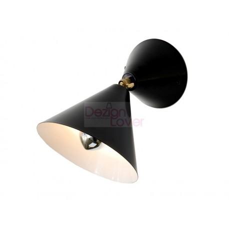 Cone wall lamp
