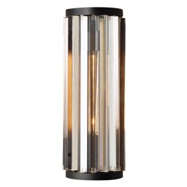 RH WELLES crystal wall lamp