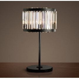 RH WELLES crystal table lamp