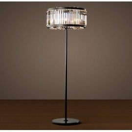 RH WELLES crystal floor lamp