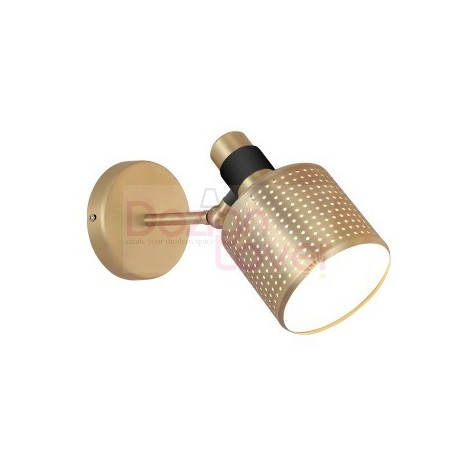 Riddle wall lamp single