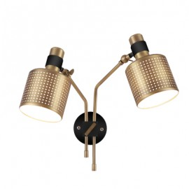 Riddle wall lamp double