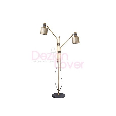 Riddle floor lamp double