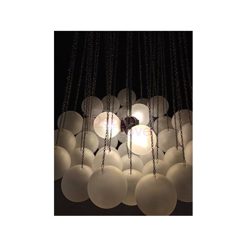 lustre contemporain cloud 73 xl design par apparatus une. Black Bedroom Furniture Sets. Home Design Ideas
