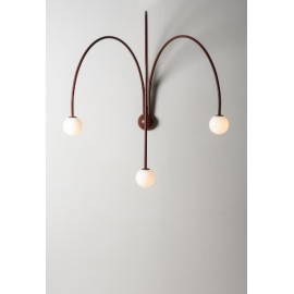 Four Spring Wall Lamp