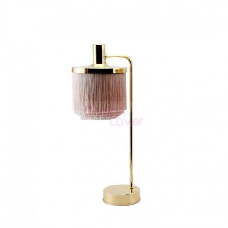 Silk Fringe Table Lamp