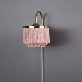 Silk Fringe Wall Lamp
