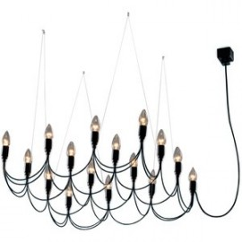 Chandelier lustre design Lightness