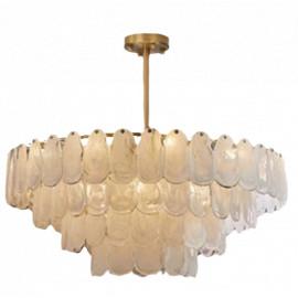 Leon Round Chandelier 4 Tiers Luxury Designer Lighting