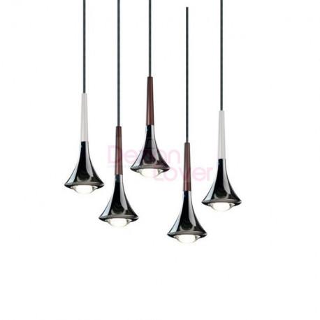 Rain Multi-Light LED Pendant Light