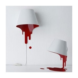 Liquid wall lamp
