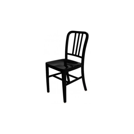 Navy powder coated chair