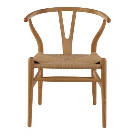 Wegner Wishbone design chair in oak