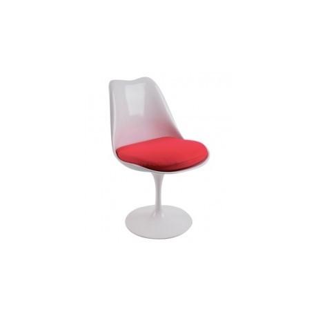 Tulip chair in fiberglass