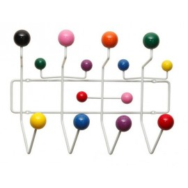 Porte-manteau Eames Hang It All multi-couleur