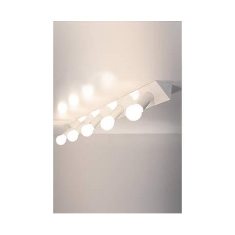 Applique ou Plafonnier design 2160 AT5 rampe lumineuse 5 spots