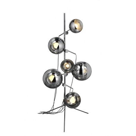 Lampadaire design mirror ball tripod
