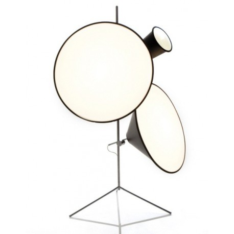 Cone design tripod stand floor lamp