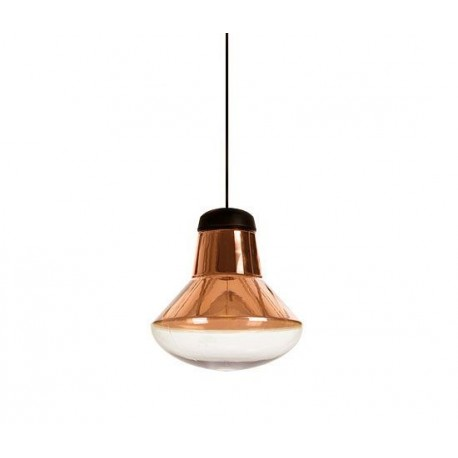 Copper blow pendant or table lamp