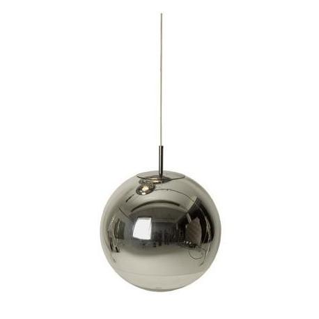 Mirror ball pendant lamp design
