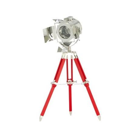 Lampe à poser design projecteur cinéma dupond et dupond