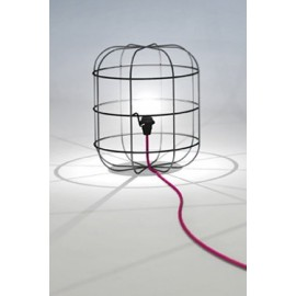 La Cage table lamp design