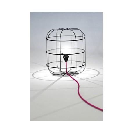 La Cage table lamp design