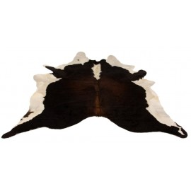 Cowhide Rug - Brown, White & Black