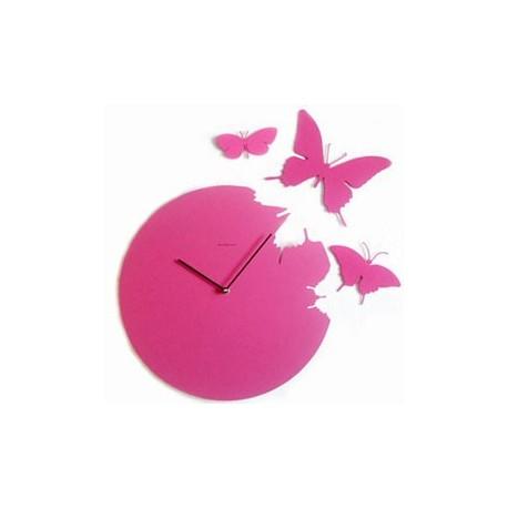 Horloge design BUTTERFLY-papillon CLOCK