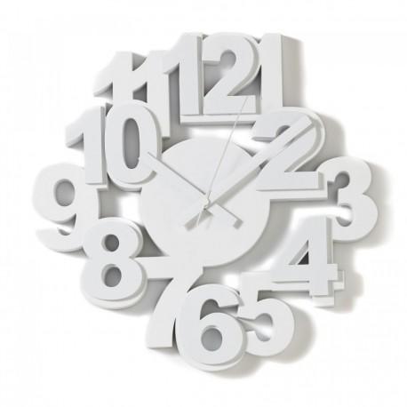Algo wall clock in wood