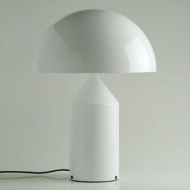 Atollo 237 table lamp in glass