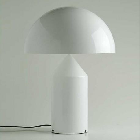 Atollo 237 table lamp in glass