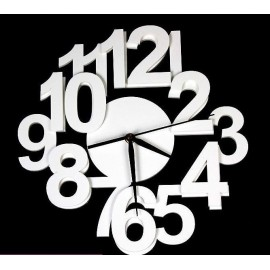 Algo wall clock in acrylic