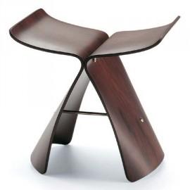 Tabouret design style Butterfly Sori Yanagi