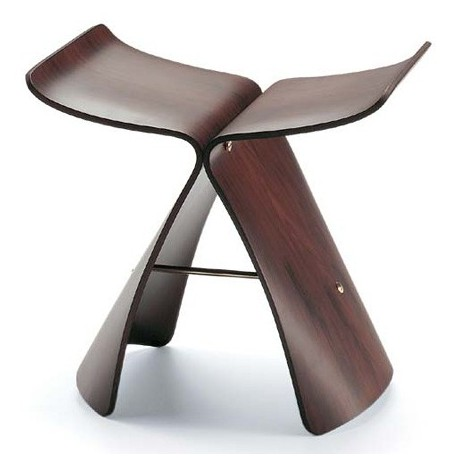 Sori Yanagi Butterfly style stool