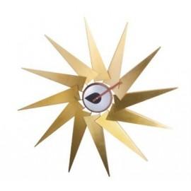 Horloge Nelson Turbine Clock