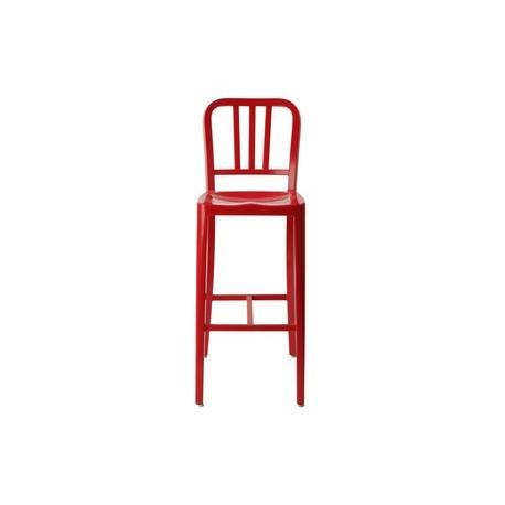 Chaise de bar design navy coloré