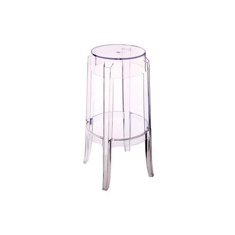 Charles Ghost stool 46cm