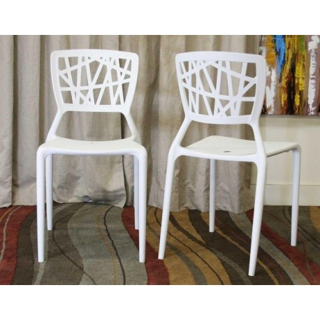 Chaise design Viento lot de 2