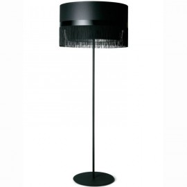 Fringe floor lamp design