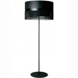 Fringe floor lamp design