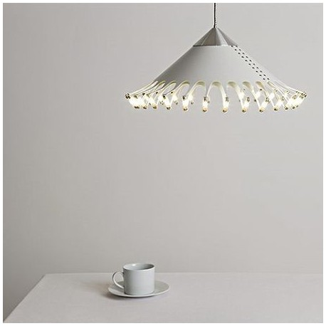 Shade LED pendant lamp